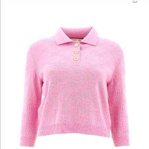 NWT Gucci Metallic Wool Sweater
